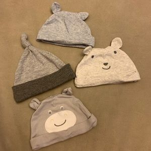 (4) Baby hats